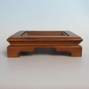Drevený stolík pod bonsaje 21,5 x 18 x 6 cm
