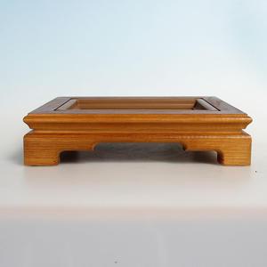 Drevený stolík pod bonsaje 28 x 22 x 6,5 cm