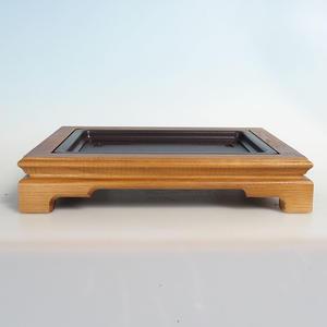 Dřevěný stolek pod bonsaje  35 x 28 x 6,5 cm