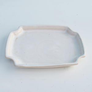 Bonsai podmiska H 01, bílá