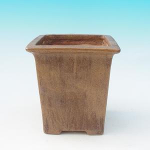 Keramická bonsai miska SKEJ 17, tmavo hnedá