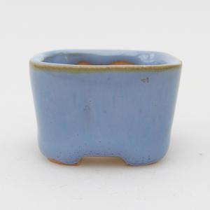 Mini bonsai misky 3,5 x 3,5 x 2,5 cm, farba modrá