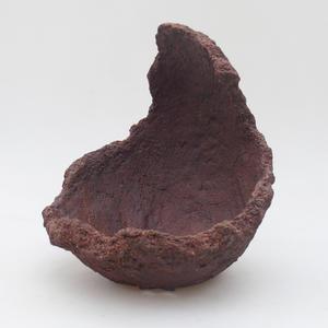 Keramická Škrupina 15 x 15 x 21 cm, farba režná