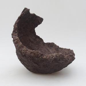Keramická Škrupina 14,5 x 15 x 17 cm, farba režná