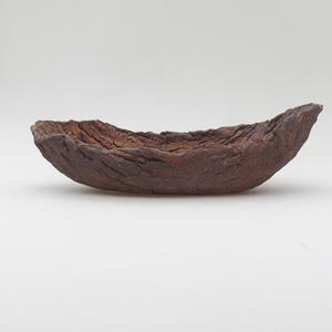 Keramická Škrupina 25 x 13,5 x 7,5 cm, farba režná