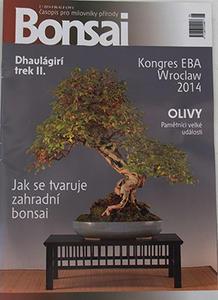 časopis bonsaj - ČBA 2014-2