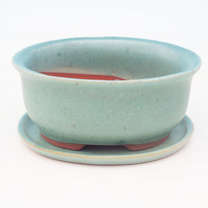 Bonsai miska + podmiska H 30, zelená