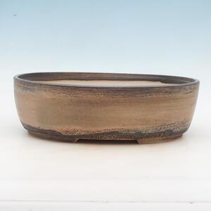 Bonsai miska 34 x 27 x 10 cm, barva béžová