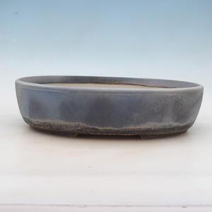 Bonsai miska 33 x 26 x 8,5 cm, barva šedomodrá