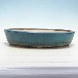 Bonsai miska 42 x 33 x 8,5 cm, barva modrá