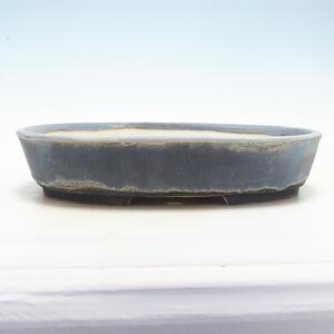 Bonsai miska 40,5 x 31 x 8 cm, barva šedá