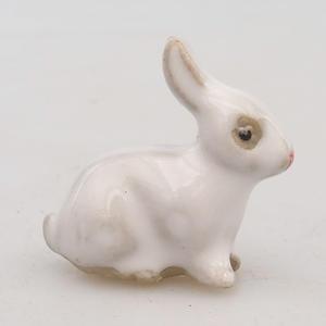 Keramická figurka - zajíc