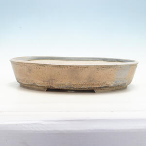 Bonsai miska 45 x 36,5 x 9 cm, barva šedobéžová