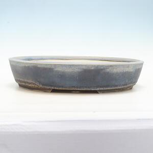 Bonsai miska 44 x 35,5 x 9 cm, barva šedomodrá
