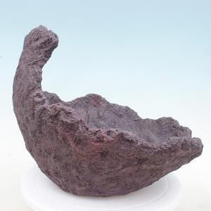 Keramická Skořápka 33 x 28 x 27 cm , barva  hnědá