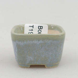 Mini bonsai miska 3,5 x 3,5 x 2,5 cm, farba modrá