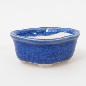 Mini bonsai miska 4,5 x 4 x 2 cm, farba modrá