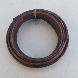 Medené tvarovacie drôty 500 g, 5 mm