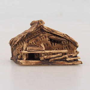 Keramická figurka - Chatrč
