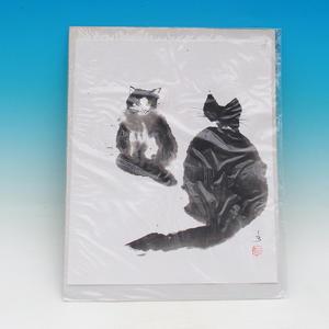 Kaligrafia - Mačky klebetnice
