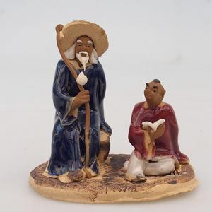 Keramická figurka - dva mudrcové