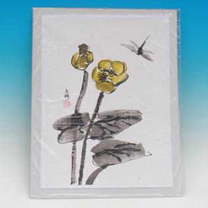 Kaligrafie - Stulík žlutý