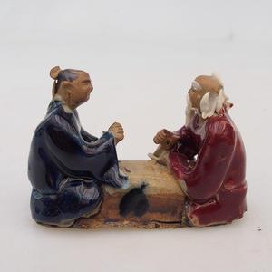 Keramická figurka - dva hráči