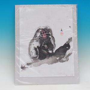 Kaligrafie - Opičky