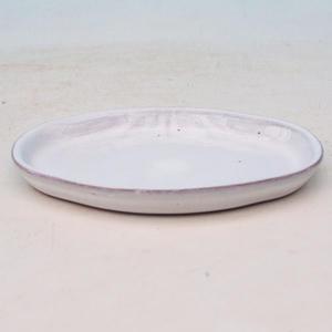 Bonsai podmiska H 05, bílá