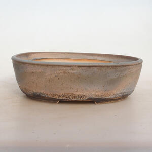 Bonsai miska 24 x 19 x 7 cm, barva šedobéžová