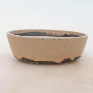 Bonsai miska 18 x 13 x 6 cm, barva béžová