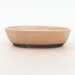 Bonsai miska 18 x 13 x 5 cm, barva béžová