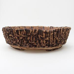 Keramická bonsai miska 2.jakost - páleno v plynové peci 1240 °C