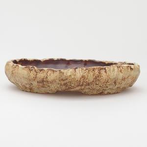 Keramická bonsai miska - pálenie v plynovej peci 1240 ° C