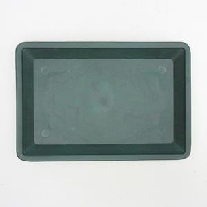 Bonsai podmiska plast PP-2 - zelená