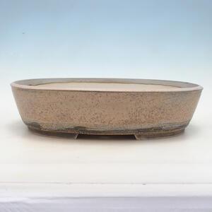 Bonsai miska 42 x 32,5 x 10 cm, barva šedobéžová