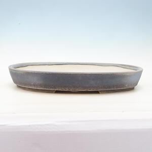 Bonsai miska 45 x 34,5 x 6,5 cm, barva šedomodrá