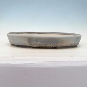 Bonsai miska 45 x 34,5 x 7 cm, barva šedomodrá