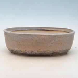 Bonsai miska 27,5 x 20,5 x 8,5 cm, barva šedobéžová
