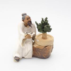 Keramická figurka - Bonsajista, F