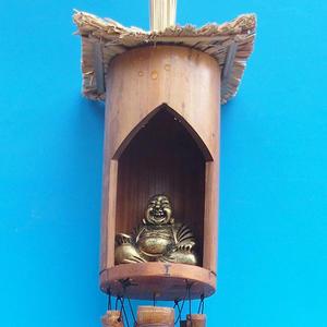 Bambusová zvonkohra Budha 120 cm