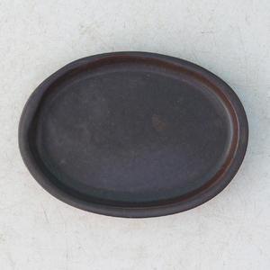Bonsai podmiska H 04, čierna matná