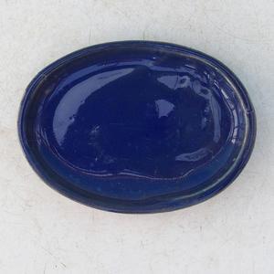 Bonsai podmiska H 04, modrá
