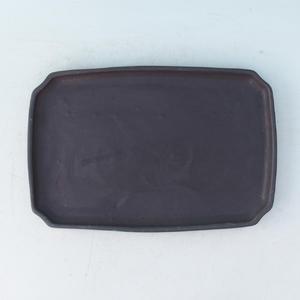 Bonsai podmiska H 07p, černá matná