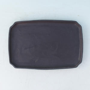 Bonsai podmiska H 07P, čierna matná