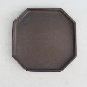 Bonsai podmiska H 14, hnedá