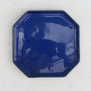 Bonsai podmiska H 14, modrá