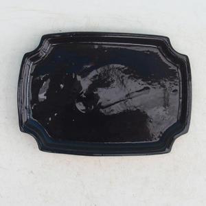 Bonsai podmiska H 17, čierna