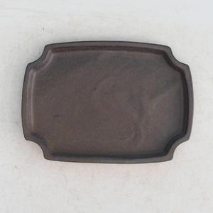 Bonsai podmiska H 17, hnědá