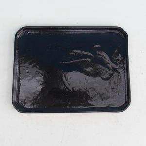 Bonsai podmiska H 20, čierna